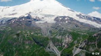 Elbrus höchster Berg Kaukasus Rückzug der Gletscher