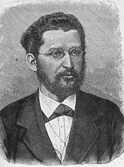 O socialista Wilhelm Liebknecht (1826–1900) foi um dos seus fundadores