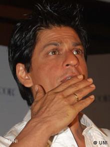 Bollywood star Shar Rukh Khan
