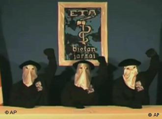 Masked ETA members