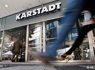 Karstadt store on the high street