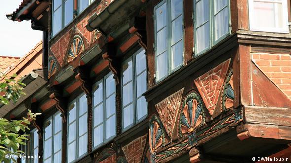 Фахверковое подворье XV века в Люнебурге