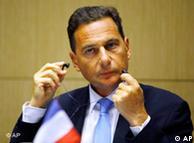 Ο Γάλλος υπουργός Μετανάστευσης Ερίκ Μπεσό