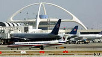 A view of Los Angeles airport Photo/Reed Saxon