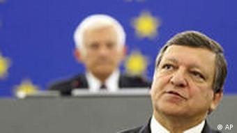 Jose Barrosso EU Kommission Straßburg Frankreich