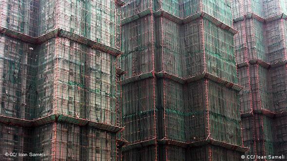 Bambus im Bau (Foto: CC/ Ioan Sameli)