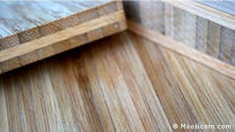 Sperrholz aus Bambus (Foto: Moosicorn.com)