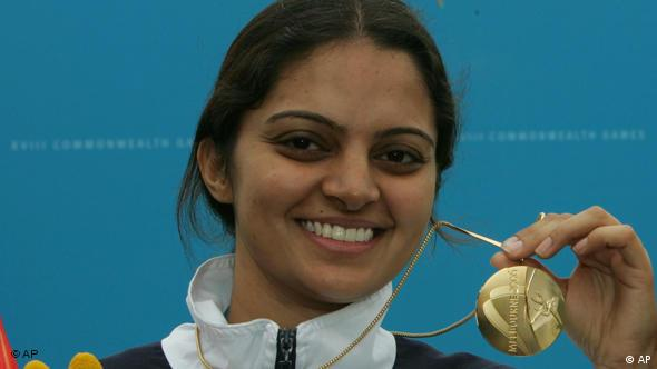 Commonwealth Games Schießen Indien Shooter Tejaswini Sawant Flash-Galerie