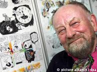 Датският карикатурист Курт Вестергор, автор на карикатурите на Мохамед