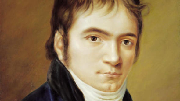 Ludwig van Beethoven in 1803 - a portrait by Christian Hornemann