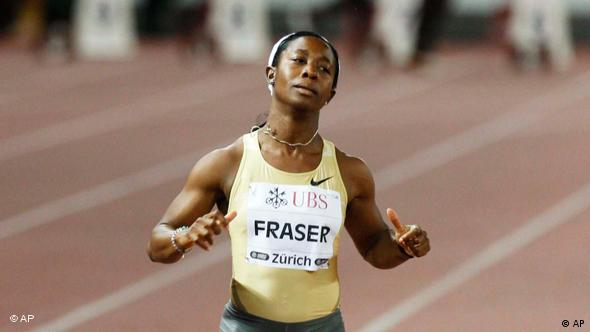 Flash-Galerie Commonwealth Games Shelly Ann Fraser