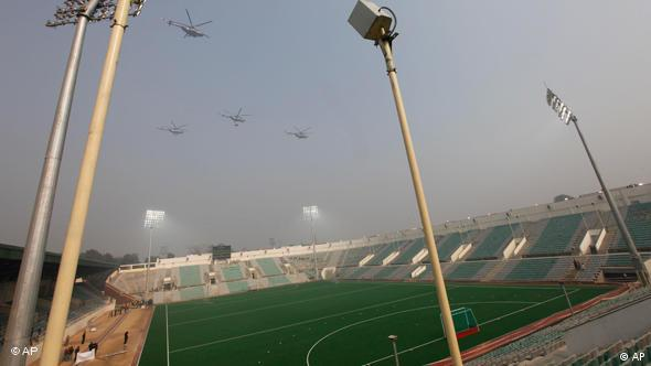 Flash-Galerie Commonwealth Games Major Dhyanchand Stadium