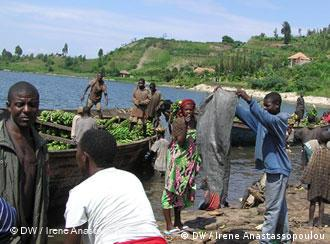 People in Goma Congo