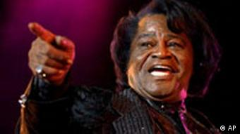James Brown still in concert