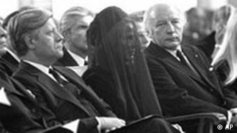 Trauerfeier für Jürgen Ponto
