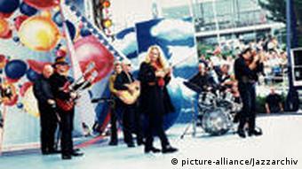 Gemeinsamer Auftritt mit der Band City in den 1990-er Jahren (Foto: Jazzarchiv)