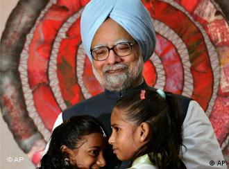 Indian Prime Minister Manmohan Singh says he will not tolerate corruption