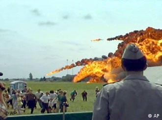 Падіння Су-27 спричинило смерть 77 осіб на скнилівському летовищі Львова у липні 2002-го року