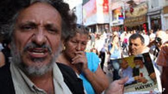 تظاهرات مخالفان اصلاحات قانون اساسی ترکیه
