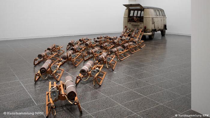 VW Bus - Joseph Beuys exhibition (Kunstsammlung NRW)