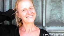 Schriftstellerin Cornelia Funke in Los Angeles; Copyright: DW/ Tobias Wenzel