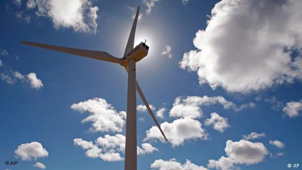 Windrad Windräder Erneuerbare Energien Windpark Südafrika Flash-Galerie