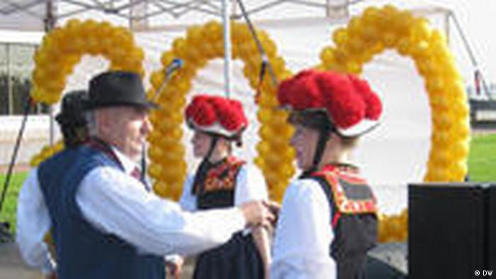 Feierlichkeiten zum 200-jährigen Jubiläum der Russlanddeutschen-Kolonie in Strelna