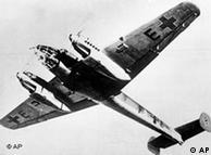 Messerschmitt Nazi bomber plane