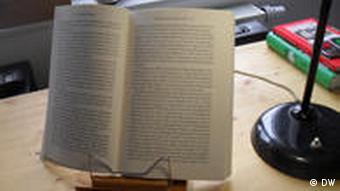Aufgeschlagenes Buch Foto: Janine Albrecht