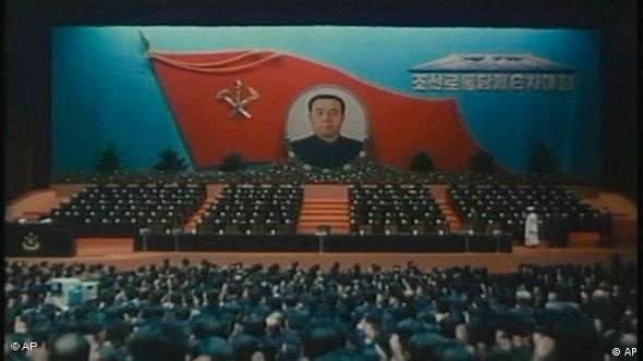 Nordkorea Nord Korea 1980 Parteitag Flash-Galerie