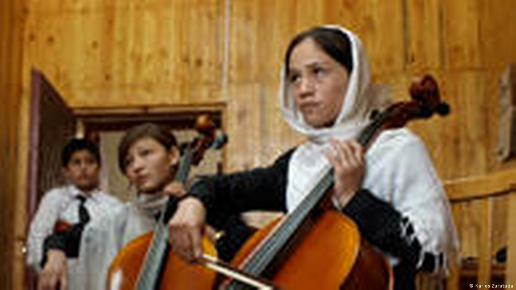 Afghan music school helps kids recover from war   World
