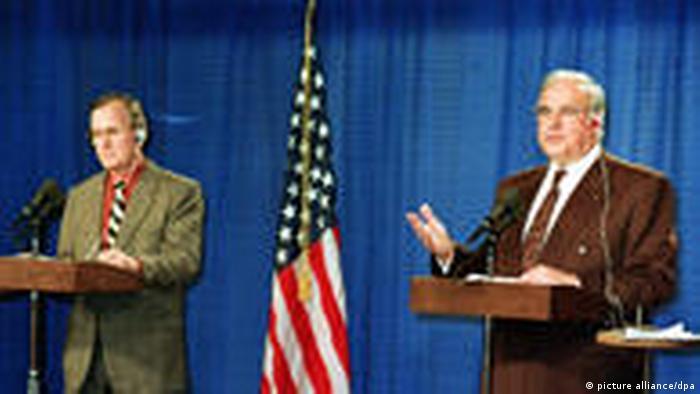 Amerykanie od początku wspierali plan Kohla