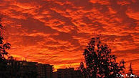 Der Blick aus meinem Fenster Santiago Chile
