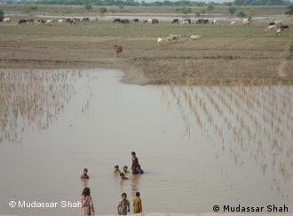 Punjab's Chanab River was one of the many that swelled over
