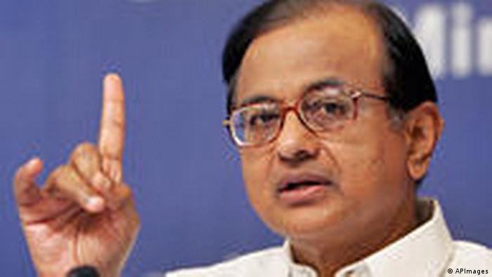 P. Chidambaram Minister (APImages)