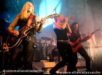 Silly bei einem Auftritt in Hamburg (Foto: Jazzarchiv)