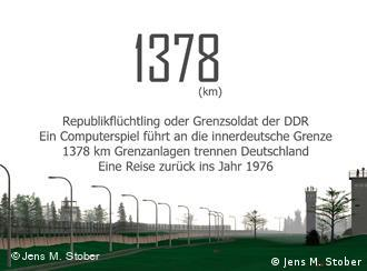 In the game, players take on the role of East German border guards