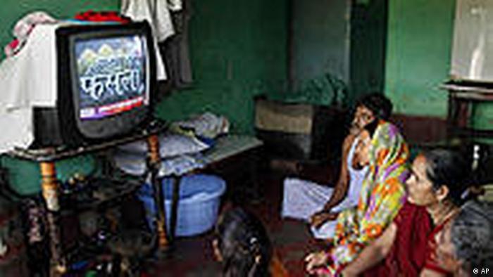 Indien Ayodhya Urteil Moscheegelände wird geteilt (AP)