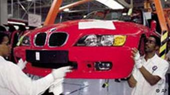 BMW: Bau eines Autos in Spartanburg