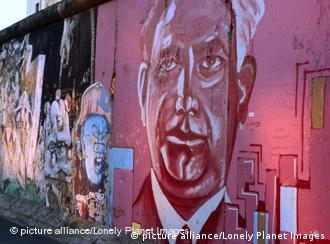 East Side Gallery en el Muro de Berlín.