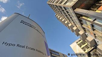 Zentrale der Hypo Real Estate HRE in Unterschleißheim bei München
