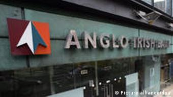 A branch of Anglo Irish Bank