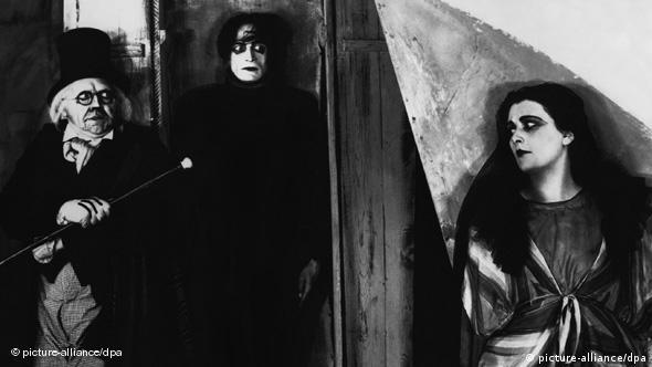 Filmstill aus Robert Wienes Das Cabinet des Dr. Caligari (Foto: picture alliance/dpa)