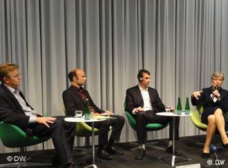 Участники дисскуссии в Берлине