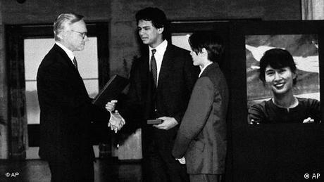 Flash-Galerie Friedensnobelpreisträger 1991 Aung San Suu