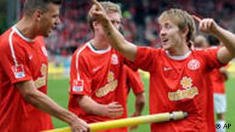 Adam Szalai, Andre Schuerrle and Lewis Holtby