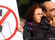 احتجاجات في برلين على زيارة قام بها فيلدرز مؤخرا إلى العاصمة الألمانية