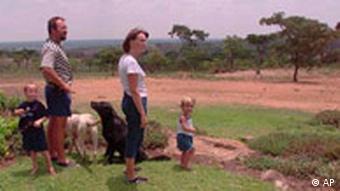 Farmer in Zimbabwe