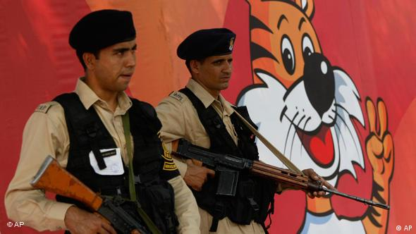Indien Commonwealth Games New Delhi Security Flash-Galerie