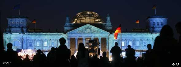 NO FLASH Festakt Deutsche Einheit Bundestag
